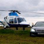 Почасовая аренда вертолета Agusta AW109 Grand New от собственника, Москва