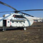 Вертолет МИ 8 АМТ, Москва