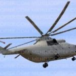Вертолет МИ-МИ-26Т после капитального ремонта в Санкт-Петербурге