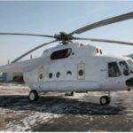 Вертолет МИ-171-E 2016 года выпуска. В транспортном вариант в Москве