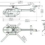 Вертолёт многоцелевой BO105 CBS4, Киев