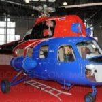 Вертолёт МИ-2 после капитального ремонта, Санкт-Петербург