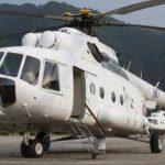 Вертолет МИ-8-МТВ после капитального ремонта в Санкт-Петербурге