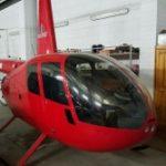 Вертолет Robinson R-44 с 12-летним оверхолом за 222 тыс.евро, Санкт-Петербург